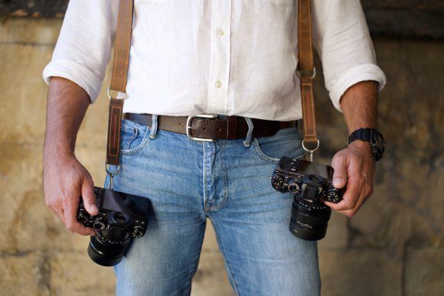 MUFLON dual camera harness