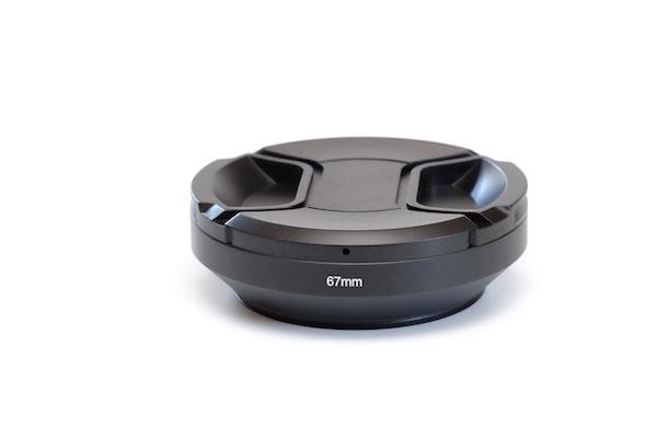 Metal Wide Lens Hood for Lens with 67mm Filter Thread + Cap / Fuji fit:  Fuji XF 16mm , Fuji XF 18-135mm