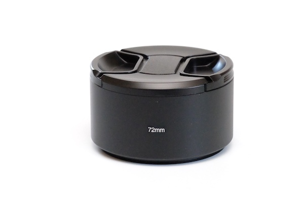 Metal Lens Hood for Tele Lens with 72mm Filter Thread + Cap  / Fuji fit:  Fuji XF 50-140mm