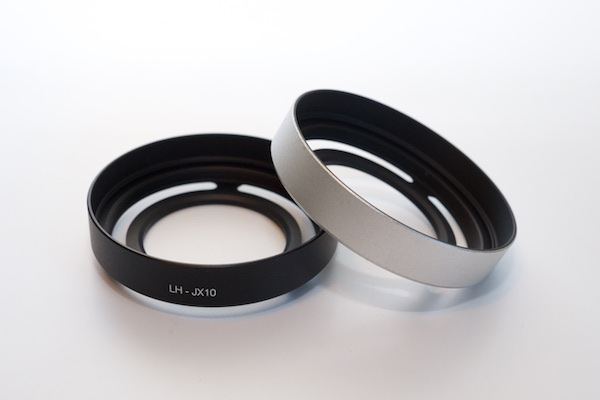 Metal Vented Lens Hood with 52mm Filter Adapter Ring for Fujifilm X10 ,  X20 , XF 18 , XF 35 1.4