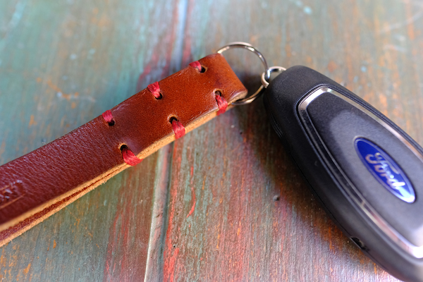 MUFLON Leather Keychain