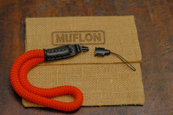 MUFLON / The Quick Release Wrist Strap