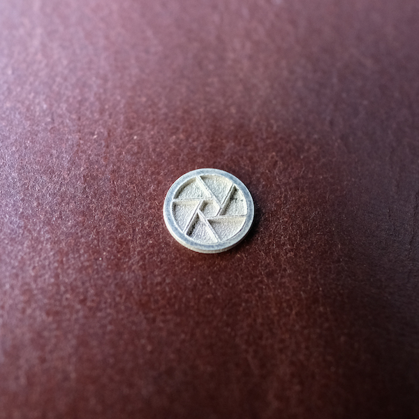 MUFLON / 925 Sterling Silver APERTURE Soft Release Button