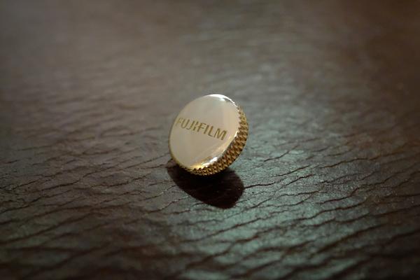 MUFLON  / 925 Sterling Silver Fujifilm  Soft Release Button