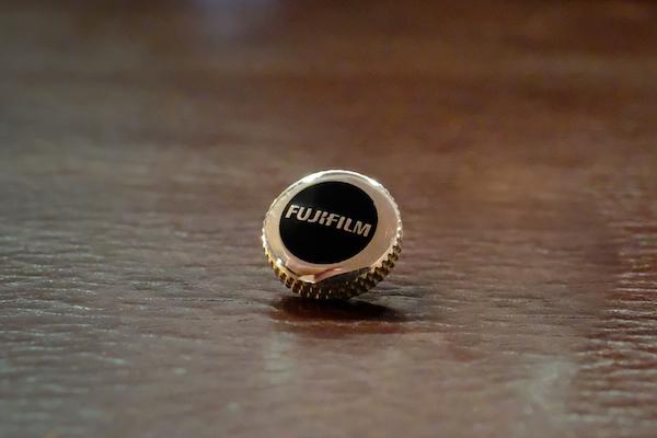 MUFLON  / 925 Sterling Silver Fujifilm Soft Release Button / Black | Red |